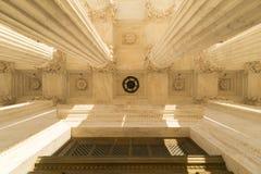 Spalten des Obersten Gerichts von U S Stockfotografie