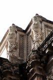 Spalten-Details Sans Francisco Palace Of Fine Arts Lizenzfreies Stockfoto