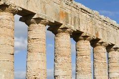 Spalten in Sizilien Lizenzfreie Stockfotos
