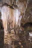 Spalten von den Carlsbad-Höhlen stockfotos