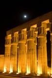 Spalten von Luxor Stockfotos