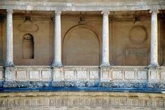 Spaltethema, Alhambra, Grana Stockbilder