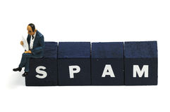 spam Arkivfoto