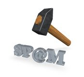 Spam Imagem de Stock Royalty Free