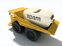Spam Photographie stock