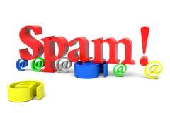 Spam! Immagini Stock Libere da Diritti