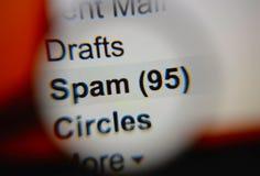 spam Arkivbild