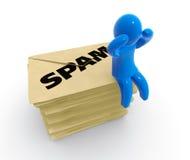 spam Arkivfoton