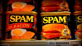 Spam! With Bacon!! Stock Images