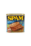 Spam Chopped Pork with Ham Royalty Free Stock Photos