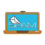 Spam concept Stock Photography