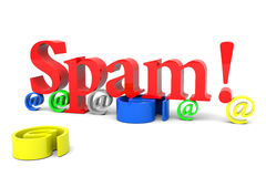 Spam! Royalty Free Stock Images