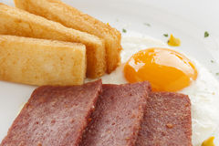 Spam And Eggs Stock Photography