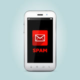Spam email Royalty Free Stock Photography