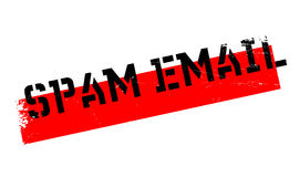 Spam Email rubber stamp Royalty Free Stock Photo