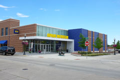 Spam Museum. AUSTIN, MINNESOTA - JUNE 21, 2017: The Spam Museum. The 16,000 square foot space is dedicated to Spam, the canned precooked meat product made by the Stock Photography