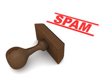 Spam Royalty Free Stock Photo