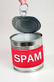 Spam word Royalty Free Stock Photos