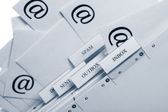 SPAM - You`ve got mail Royalty Free Stock Photography
