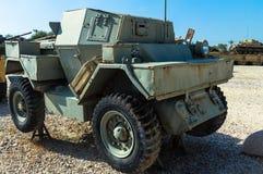 Spana bilen Ford Mk 1 LODJUR 1 Latrun Israel Arkivfoto