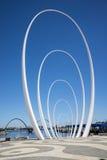 Spanda - скульптура искусства в 29 метров на waterfro набережной Элизабета Стоковая Фотография