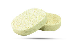 Spange. Sponge for a bathe and wash dishes Stock Image