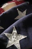 Spangled Banner van de ster stock afbeelding