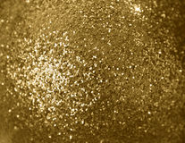 Spangles. Background from gold shine spangles Royalty Free Stock Photo
