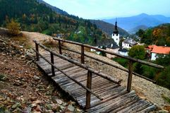Spania Dolina Fotografia Stock Libera da Diritti