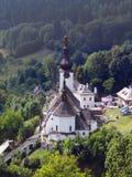 Spania Dolina en Kerk van de Transfiguratie royalty-vrije stock afbeeldingen