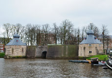 Spaniards gate in Breda Stock Images