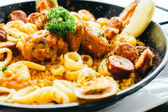 Spanich paella Royalty Free Stock Images