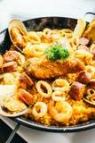 Spanich paella Royalty Free Stock Photos