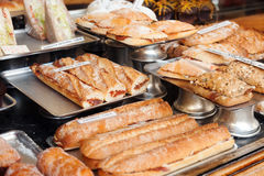 Spanich sandwich - bocadillo Royalty Free Stock Photos