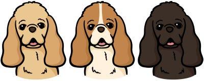 Spaniel di Cocker americano royalty illustrazione gratis