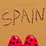 Spanien Arkivbild