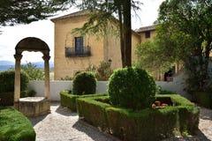 Spanien Andalusia, Ronda Royaltyfria Foton