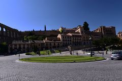 Spanien arkitektur royaltyfria bilder