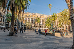 Spanien - Barcelona Royaltyfria Bilder