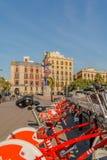 Spanien - Barcelona Arkivbild