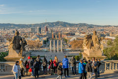 Spanien - Barcelona Royaltyfria Foton