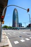 Spanien Catalunya, Barcelona 14 06 2013 stadens landskap Royaltyfri Bild