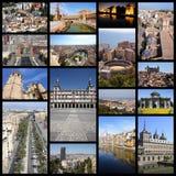 Spanien collage Royaltyfri Bild