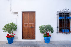 Spanien Cordoba die Patios Stockbild