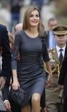 Spanien drottning Letizia 005 Arkivfoton
