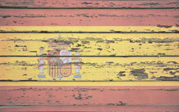 Spanien-Flagge Lizenzfreies Stockfoto