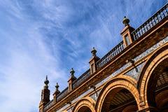 Spanien fyrkant Arkivfoto