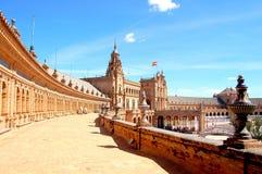 Spanien fyrkant Fotografering för Bildbyråer