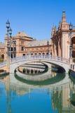 Spanien fyrkant i Seville royaltyfri bild