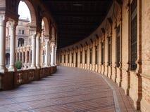 Spanien fyrkant & x28; Plaza de Espana& x29; seville spain Fotografering för Bildbyråer